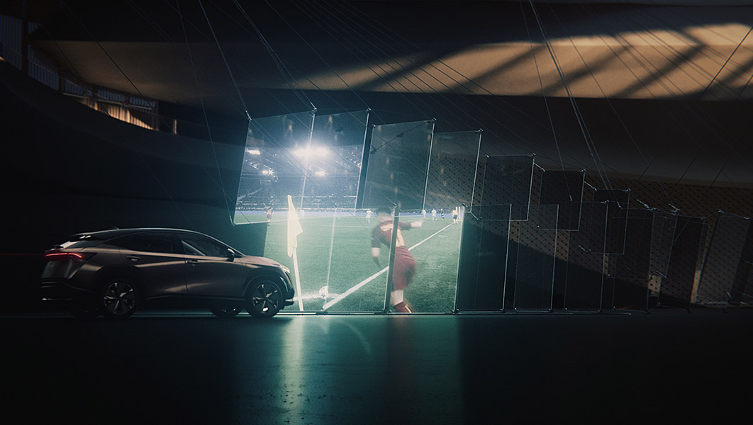 Nissan UCL Idents